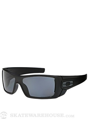Oakley Batwolf Sunglasses  Matte Black w/Grey Polarized