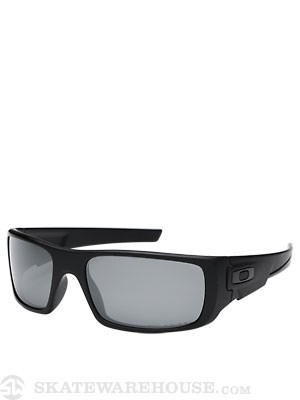 Oakley Crankshaft Sunglasses  Matte Blk/Blk Irid. Polar