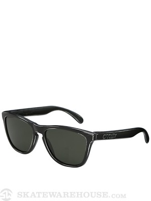 Oakley Frogskins Sunglasses  Black Decay/Dark Grey