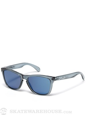 Oakley Frogskins Sunglasses Crystal Blk/Ice Iridium