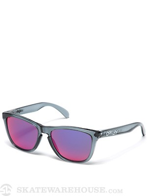 Oakley Frogskins Sunglasses Crystal Blk/Red Iridium