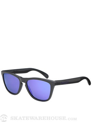 Oakley Frogskins Sunglasses  Dark Grey/Violet Iridium