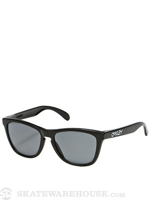 Oakley Polished Blk Frogskins w/Polarized Lens