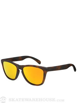 Oakley Frogskins Sunglasses  Matte Brown Tort/Fire Irid