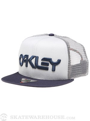 Oakley Factory Trucker Hat Blue Depths Adj.