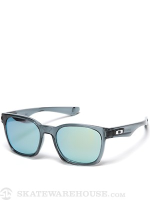 Oakley Garage Rock Sunglasses  Crystal Blk/Emerald Irid