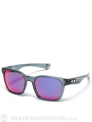 Oakley Garage Rock Sunglasses  Crystal Blk/Red Iridium