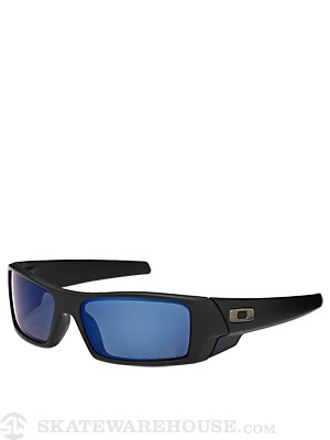 Oakley Gascan Sunglasses  Matte Black w/ Ice Iridium
