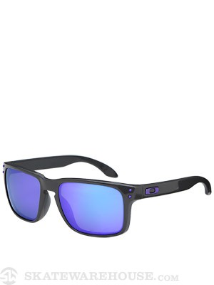 Oakley Holbrook Sunglasses  Dark Grey/Violet Iridium