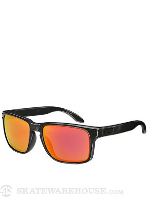 Oakley Holbrook Sunglasses  Fallout Black/Ruby Iridium