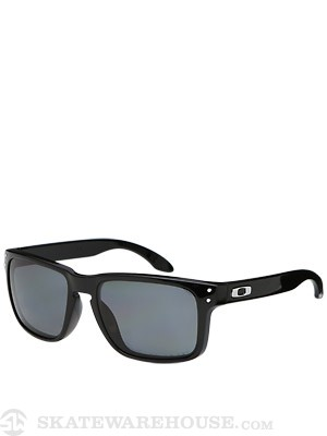 Oakley Holbrook Polished Black w/ Grey Polarized