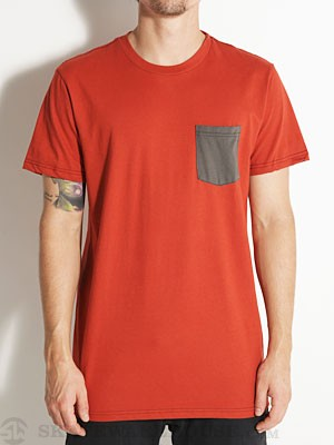 Oakley Pocket Tee Red Clay XL