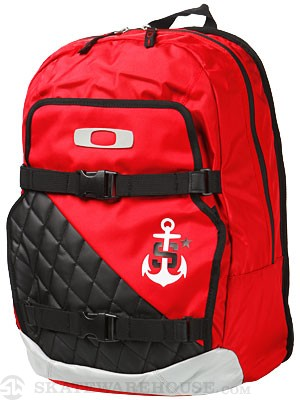 Oakley Sheckler Streetman 2.0 Backpack Red