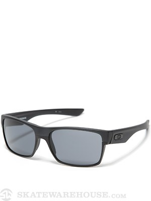 Oakley TwoFace Sunglasses  Steel w/ Grey