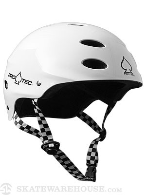 Ace SXP Skateboard Helmet White MD