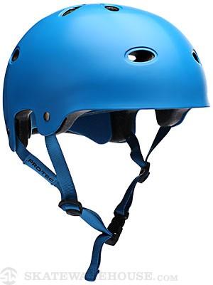Protec B2 Skateboard Helmet Satin Blue MD