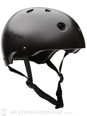 Protec The Classic Helmet Satin Black XS