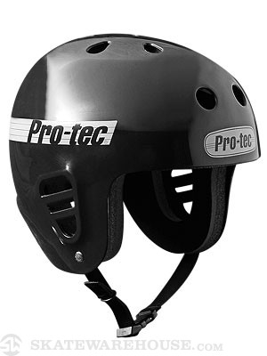 Classic Full Cut Skate Helmet Black MD