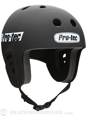Protec The Full Cut Skate Helmet Satin Black XL