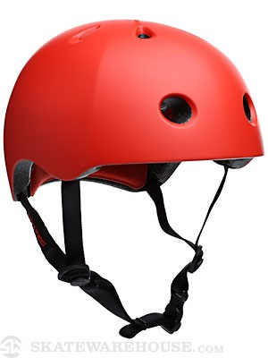 Protec Street Lite Helmet Satin Blood Orange XS