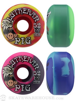 Pig Dan Lu Pig Swirl Wheels 52mm