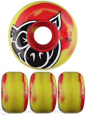 Pig Head Swirl Wheels 54mm