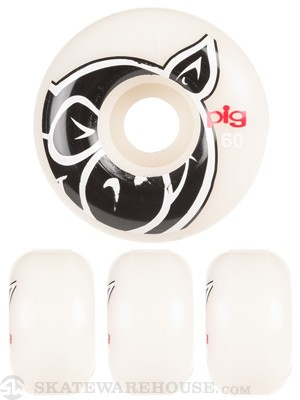 Pig Head Natural Wheels
