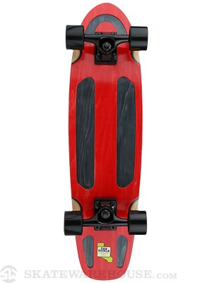 Pickle Board Co Pickle Deck w/Channels Red 7.5 x 29