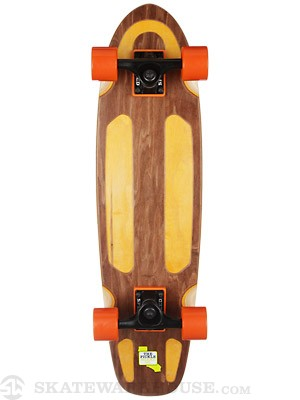Pickle Board Co Pickle Deck w/Channels Brown 7.5 x 29