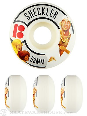 Plan B Sheckler Action Flicks Wheels 53mm