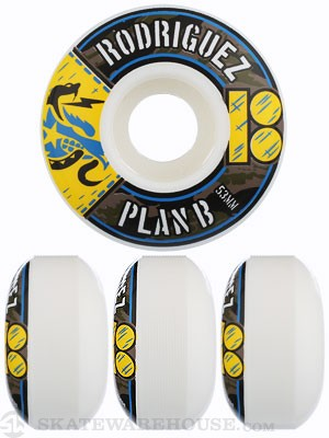 Plan B Rodriguez BDU Wheels 53mm
