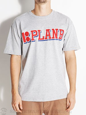 Plan B Built Tee Heather Grey SM