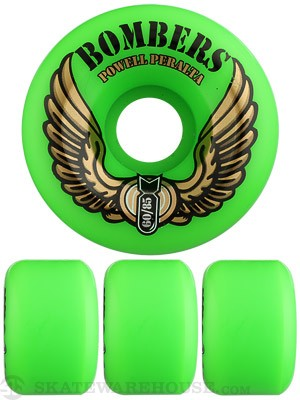 Powell Bombers 85a Wheels  Green
