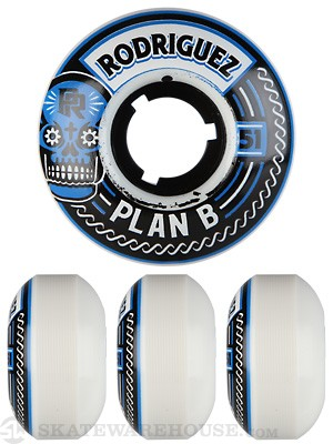Plan B Rodriguez Crest 2.0 Wheels 51mm