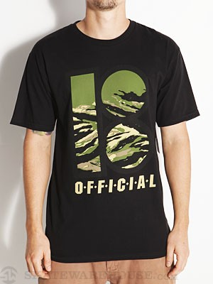 Plan B Camo Tee Black MD