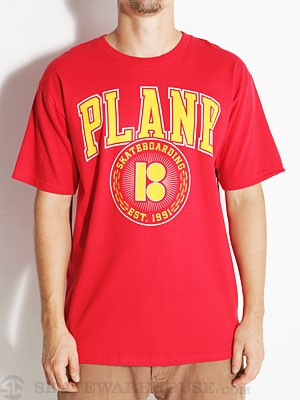 Plan B Curtain Tee Red MD