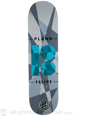 Plan B Felipe Jagged P2 Deck  8 x 31.75