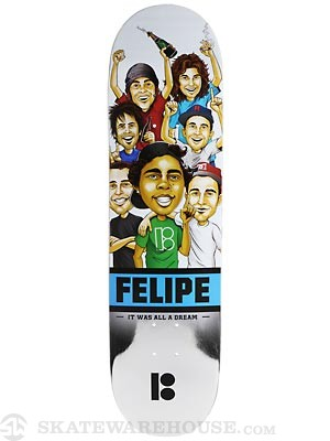 Plan B Felipe MVP Welcome Deck  8.25 x 31.75