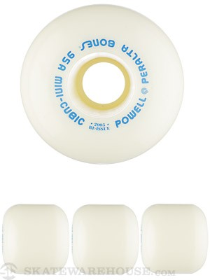 Powell Mini-Cubic White Wheels