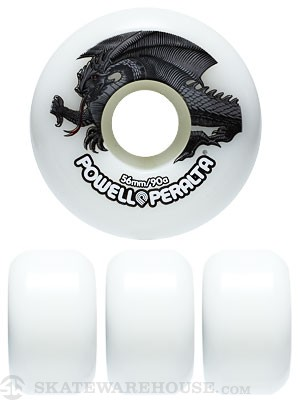 Powell Oval Dragon Wheels 56mm
