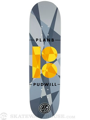 Plan B Pudwill Jagged P2 Deck  8.25 x 31.75