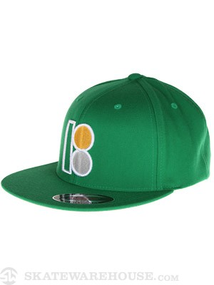 Plan B Prep Snapback Hat Kelly Green Adjust