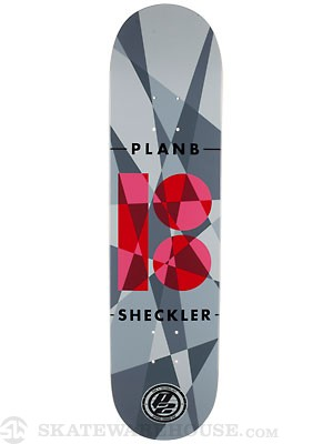 Plan B Sheckler Jagged P2 Deck  7.75 x 31.25