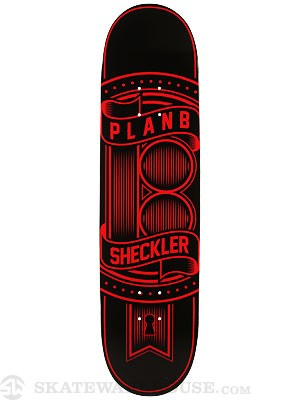 Plan B Sheckler Lock Deck  8.125 x 32.35