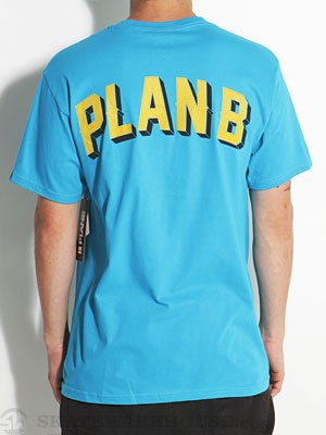 Plan B Southside Tee Teal SM