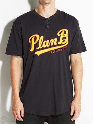 Plan B Shortstop Henley Navy XL