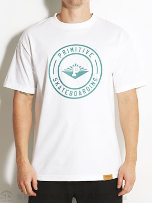 Primitive Core Seal Tee White SM