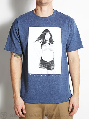 Primitive Denise Tee Denim Heather SM