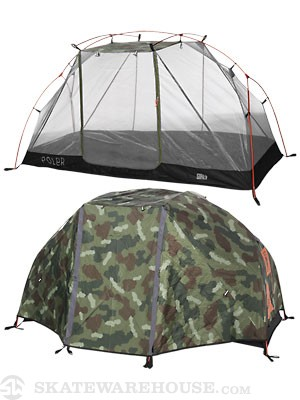 Poler x Girl One Man Tent Camo