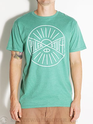 Poler Hemisphere Tee Kelly Green XL